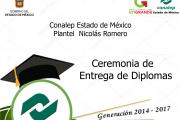 Ceremonia de Graduación Generación 2014-2017